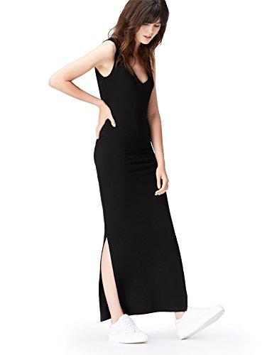 FIND Damen Maxi Jersey-Kleid  , 36 (Herstellergröße: Small) (Maxi-kleid Jersey)