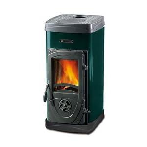 Nordica estufa de fuego Continuo Super Max Verde 1unidades