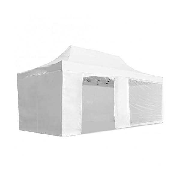 Carpa-plegable-3x6-Resistente-al-agua-Color-Blanco