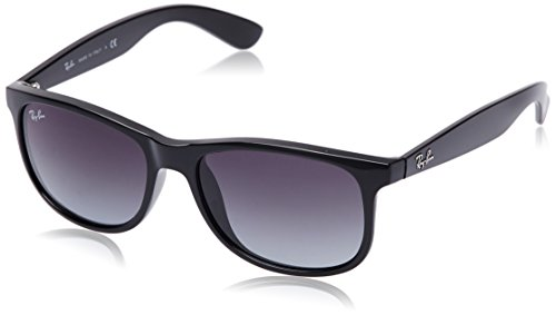Ray-Ban 601/8G 4202 Gafas de sol, Wayfarer, 55, Negro