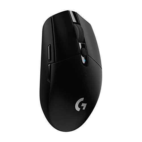 Logitech G304 Lightspeed Wireless Gaming Mouse (Black)