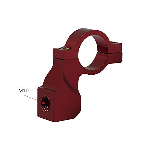 XIANGBAO-Komponenten Universal Motorrad ATV Rückspiegel Halterung Adapter Halter Klemmschraube Aluminium 22mm 7/8