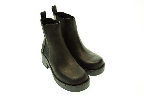 Windsor Smith Eagar, Stivaletti Donna Nero (Black Leather)