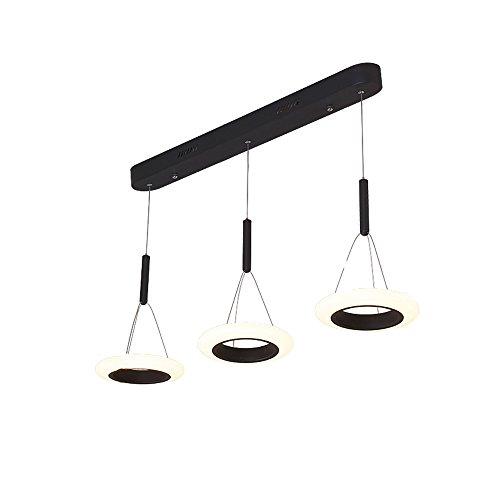 YAN JUN Postmodern Kreativität Führte Magische Bohnen Art Chandelier 3lamps Beleuchtung, 89cm Lang, 21cm Breit Und 120cm Hoch