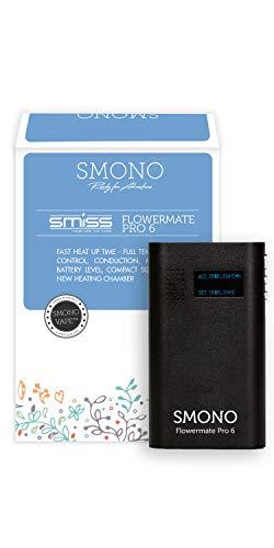 VSmono Vaporizer Flowermate Pro 6.0 | Verdampfer für Kräuter, Öle, Wachs und Harz l ohne Nikotin | Version 2019 Smiss