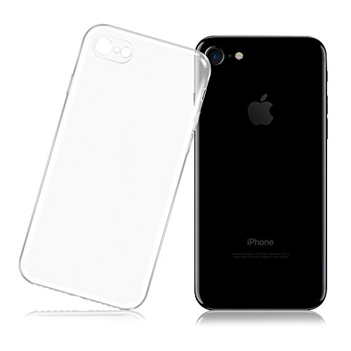 "Funda iPhone 7, LafeiRabbit Transparente TPU Slim Silicona Carcasa para iPhone 7 (4.7"")"