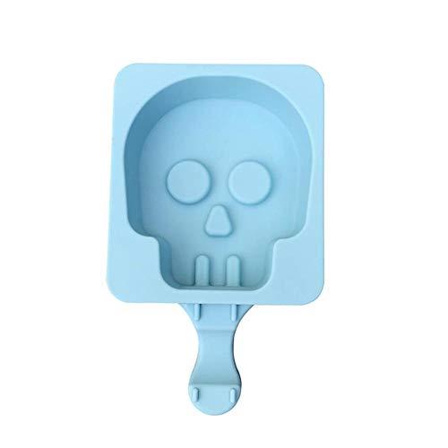 le Mold Eisformen Silikon Ghost Head Grabstein Eule Geformt Cartoon Ice Sucker Mould Für Party DIY Lebensmittelqualität Perfekt ()
