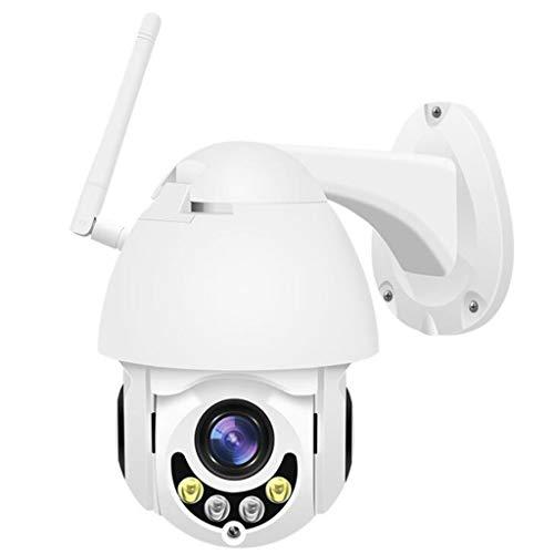 PTZ-Kamera im Freien, drahtloser Sicherheits-IP-Kamera-Nachtsicht-Autofokus HD 1080P Wifi mit vorinstallierter 64G Mikro-Sd-Karte (Sd-karten 64g)