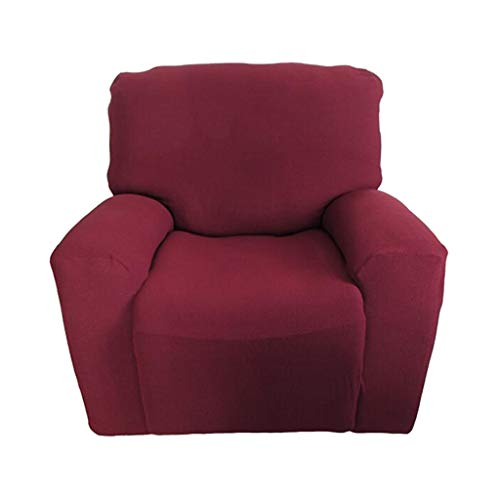 Homyl fodera copridivani copertura per sedia reclinabile protettore da poltrone relax - vino rosso
