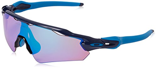 Oakley Men's Radar EV Asian OO9275-05 Shield Sunglasses, Navy, 135 mm