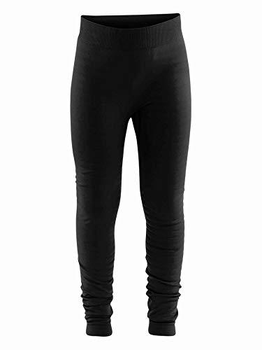 Craft Kinder WARM Comfort Pants JR Baselayer, Black, 122/128 | 07318572959576