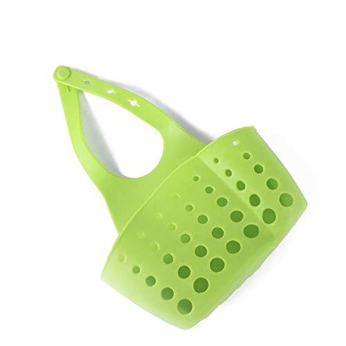 Sommer's Laden Tragbare Korb Home Küche Hängen Ablaufkorb Tasche Bad Lagerung Werkzeuge Waschbecken Halter Küche Zubehör