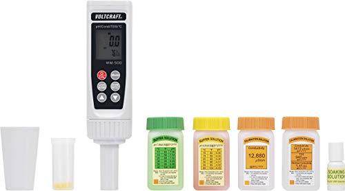 Appareil de mesure combiné VOLTCRAFT WM-500 pH, ORP, température, conductivité, TDS et salinité 1 pc(s)