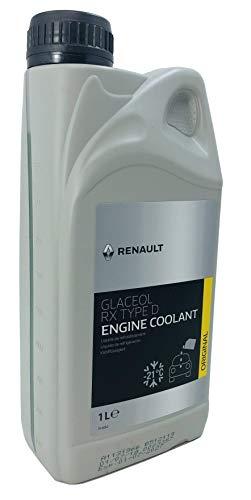 Liquido refrigerante Renault Glaceol RX Tipo D verde antigelo, 1 litro