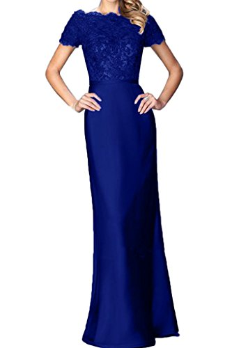 ivyd ressing robe populaire robe courte pointe aermel & mommé Prom Party Soirée Robe Bleu royal