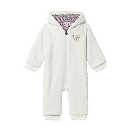 Steiff Baby - Mädchen Spieler , Weiß (CLOUD DANCER 1001) , 50 (Herstellergröße:50)