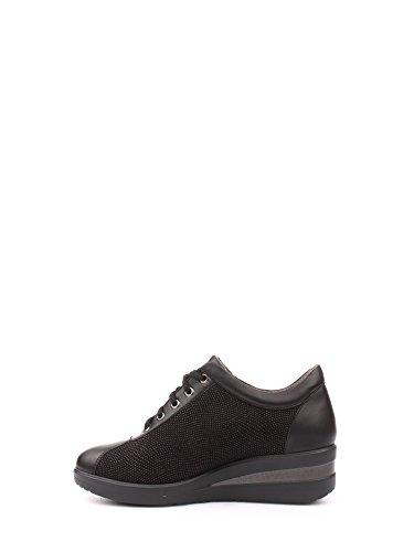 MELLUSO WALK R0815 chaussures de sport coincent lacets de confort Nero