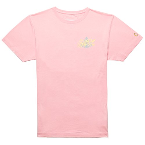 Chabos IIVII Herren Oberteile/T-Shirt Pyramid Rosa