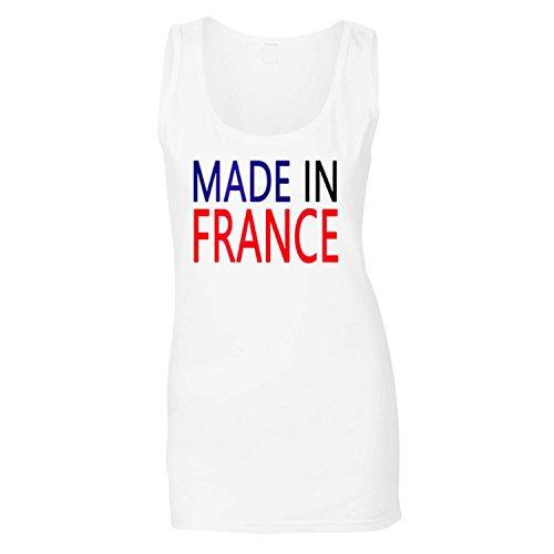 Fabriqué en France Drôle Nouveauté Nouveau Dames Debardeur i16ft