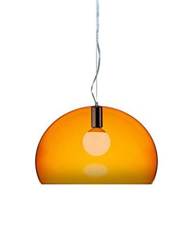 Kartell Fl/y Hängeleuchte (Kartell FL/Y - EASY - E' - GE' FL/Y Hängeleuchte, Orange)