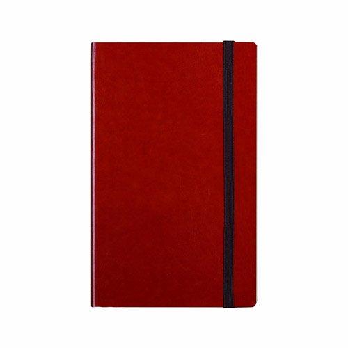 Notas y salpica VINSLRL004 - Vintage, Gran Cuaderno de Tapa Blanda Forrada, Nuevo Titular de la Tarjeta de Visita, marrón