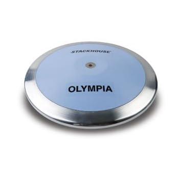 Olympian Discus en luz azul...