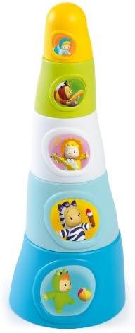 Smoby Smoby Smoby - 211322 - Jouet de Premier Age - Cotoons Happy Tower - Bleu | Qualité Supérieure  d2c5da