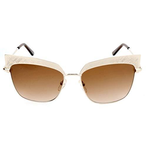 Karl Lagerfeld Damen Kl247S Sonnenbrille, Weiß, 56