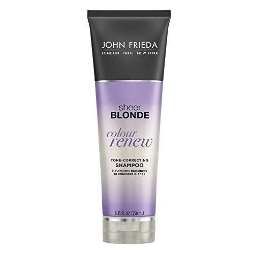 John Frieda Sheer Blonde Colour Renew Tone-Correcting Shampoo, 8.45 Ounces (Pack of 2) by KAO Brands [Beauty] (English Manual)