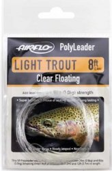 Polyleader Airflo Light trout 8'