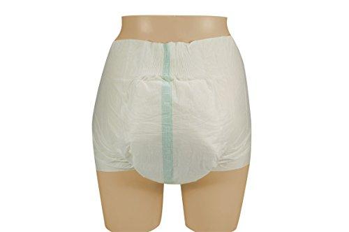 VIDIMA Windeln für Erwachsene mit Klebestreifen für leichte/mittlere Inkontinenz, Erwachsenenwindeln (L – 18 Stück) - 3