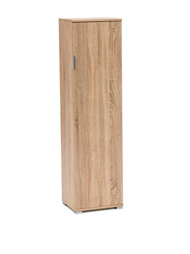 Memi me207bia portascope,  legno, rovere  sonoma, 151 x 33 x 40