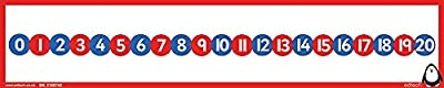 "Inspirational Classrooms 3154905 ""Peter Penguin 0-20 Number Line Educational Toy from EdTech"