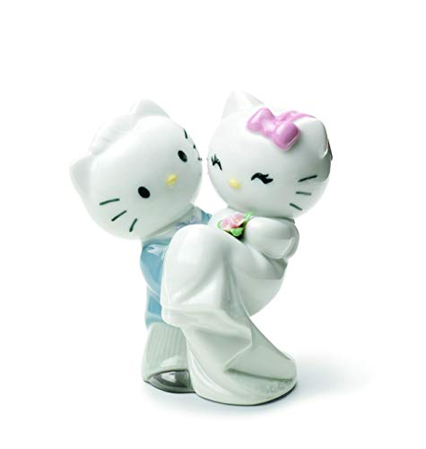 Nao Porcelain by Lladro HELLO KITTY GETS MARRIED! ( BRIDE & GROOM , MARRIAGE , WEDDING , HELLO KITTY COLLECTION ) 2001662