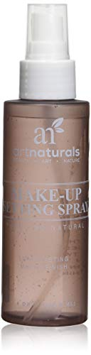Arte Naturals trucco impostazione spruzzare 4.0 oz lunga durata / All giorno Extender - tutti naturali con Aloe Vera