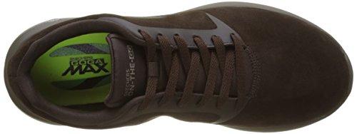 Skechers On-The-Go City 3, Scarpe Running Uomo Marrone (Chocolate)
