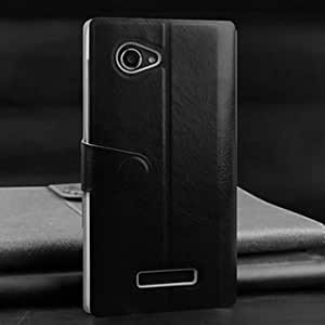 Generic Window View Flip PU Leather Protective Case For Lenovo A880