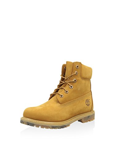 Timberland 6in Premium Boot - W Wheat, Bottes Track femme Beige