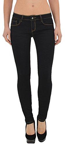 Jean femme skinny Jeans femmes noir pantalon en jean femme slim J181 J181
