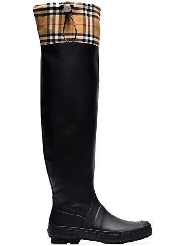 BURBERRY Damen 8007035 Schwarz Polyester Stiefel