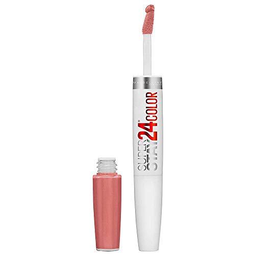 3 x Maybelline Superstay 24hr Lippenstift & Balm Neu mit Box - 125 Natural Flush