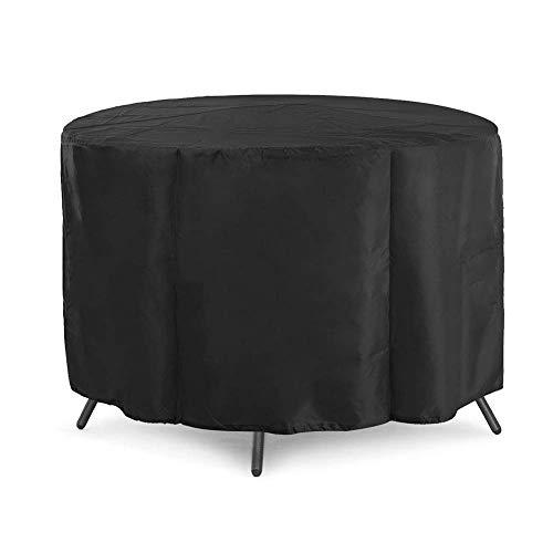 Housse anti-poussière - Ensemble de meubles Table de jardin et housse de protection de jardin en plein air Housse anti-poussière Parasol en tissu Oxford imperméable (sélection de la taille 2) Taille p