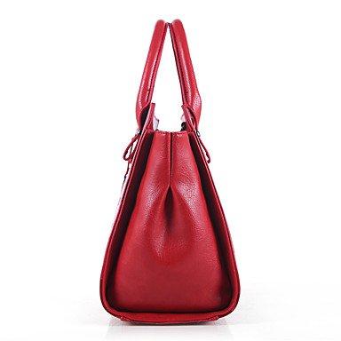 La donna pu formale Evento Casuale/Partito Set borsa,Cammello Red
