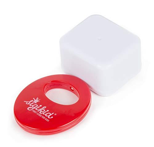 sigikid, Mädchen und Jungen, Spielwerk für Spieluhr, Melodie Ein Männlein steht im Wald, Weiß/Rot, 41380