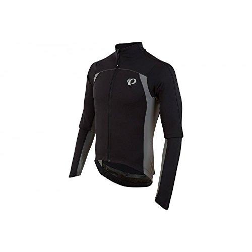 Pearl Izumi Men's Pro Pursuit Thermal Jersey Medium Black / Green - Pearl Izumi Pro Thermal