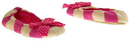 De Fonseca Sarasi Ballerine Pantoufles Tricotées Filles Rose
