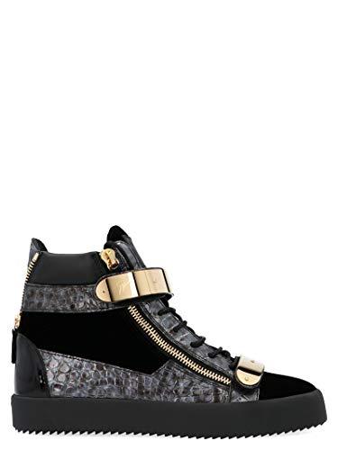 Giuseppe Zanotti Luxury Fashion Design Herren RU70017024 Schwarz Hi Top Sneakers | Herbst Winter 19