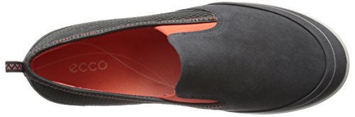 Ecco ARIZONA Damen Slipper Grau (DARKSHADOW/CORAL 58925)