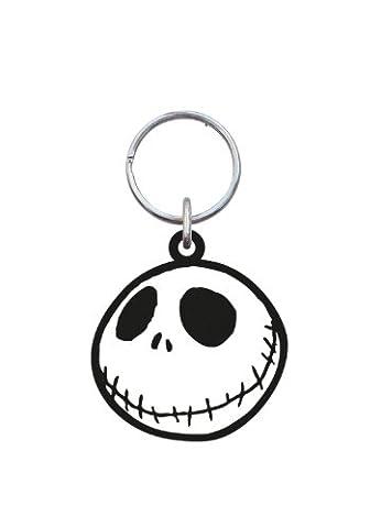 Disney Jack Head Soft Touch PVC Key Ring