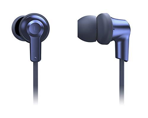 Panasonic RP-NJ300BE-A Bluetooth In-Ear Kopfhörer (Ohrhörer, Quick Charge, Mikrofon, Sprachsteuerung, blau) Panasonic System Controller